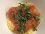 Spaghetti (Squash) & (Chicken)Meatballs